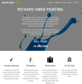 Richard Owen Painting